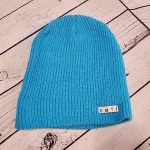 🔴5/25 Neff Beanie Turquoise Hat